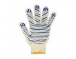 Перчатки ХБ с ПВХ напылением 7,5 класс (упрочненные)