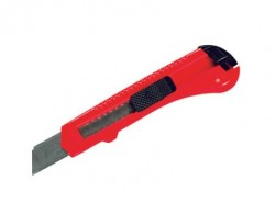 Нож канцелярский 18мм, выдвижное лезвие
