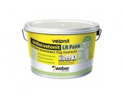 Шпаклевка под покраску VETONIT LR Pasta (20кг)