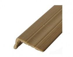 Уголок деревянный 40х60х2500мм (фигурный)